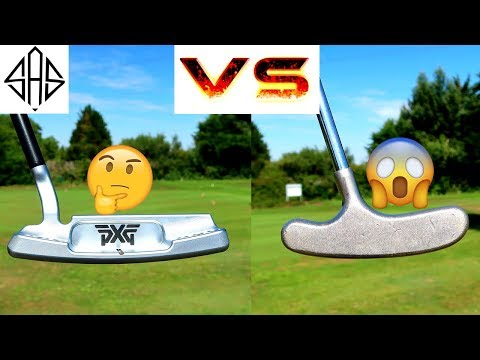 EXPENSIVE PXG PUTTER Vs CHEAP MINI GOLF PUTTER