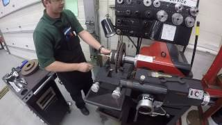 Hunter Brake Lathe - Turning a Brake Rotor