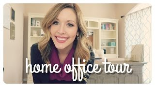 Home Office Tour | #bosslady