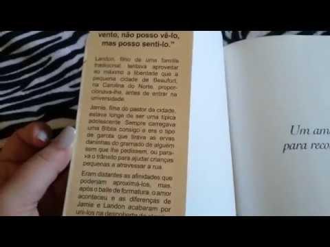Review Livro Um amor para recordar