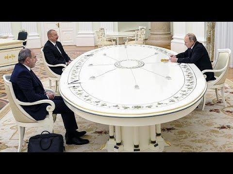 Τριμερείς συνομιλίες στη Μόσχα για τη συμφωνία Ναγκόρνο-Καραμπάχ…