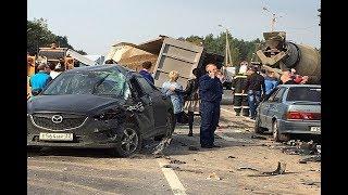 ВИДЕО АВАРИЙ ДТП АВТОМОБИЛЕЙ И МОТО СНЯТЫХ НА ВИДЕОРЕГИСТРАТОР Car Crash Channel № 20