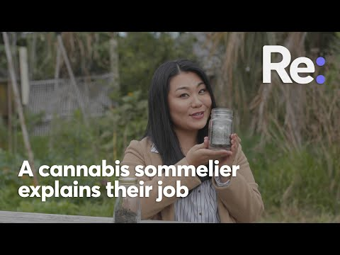 What does a Cannabis sommelier do?