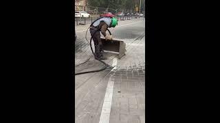 Straßenbegrenzung entfernen