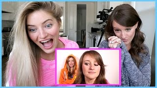 REACTING TO OUR OLD VIDEOS!