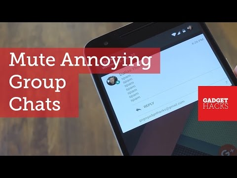 Mute Excessive Group Chat Notifications on Android [How-To]