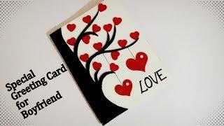 Special Greeting card for Boyfriend   Beautiful Greeting Card Idea   Easy Handmade Card   Tutorial