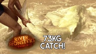 Man-Sized Goonch CatFish - River Monsters