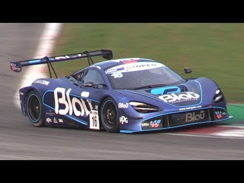 GT Open Monza 2019 Thursday Tests-720S,Huracan,AMG & More