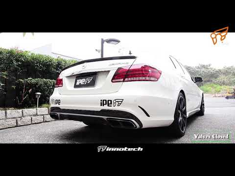 The iPE Exhaust for Mercedes E63 AMG W212