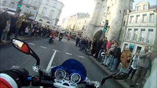 preview picture of video 'Moto PERE NOEL 23 /12/ 2012  La Rochelle VERSION COMPLETE'
