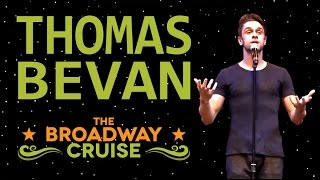 "Thomas Bevan sings ""Mr. Cellophane"" from CHICAGO on the R Family Cruise"