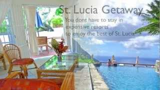 preview picture of video 'St. Lucia Holidays: Ladera Villa Resort Review and Movie -  The Pitons'