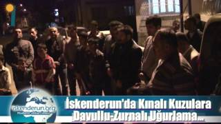 preview picture of video 'İskenderun'da Davul-Zurnalı Asker Uğurlaması'