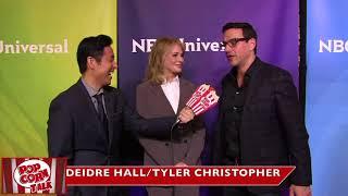 Christopher Tyler - NBC Universal January 2018 Press Tour - PopcornTalk - Interview V.O.