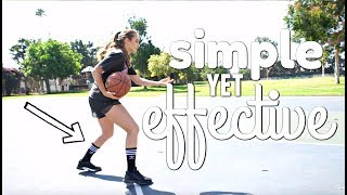 MOST UNDERRATED BASKETBALL MOVE (TUTORIAL FOR ALL LEVELS) // Rachel DeMita