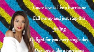Antonia-Hurricane (LYRICS)