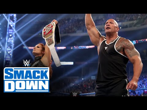 The Rock and Becky Lynch humble King Corbin: SmackDown, Oct. 4, 2019