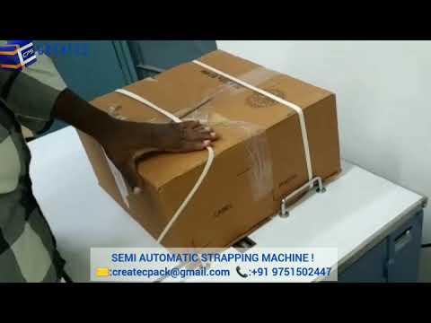90 Kg Semi Automatic Strapping Machine