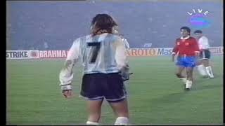Claudio Paul Caniggia Vs Chile - Copa América 1991