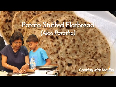 Image of Cooking with Grandson - Potato-Stuffed Paratha