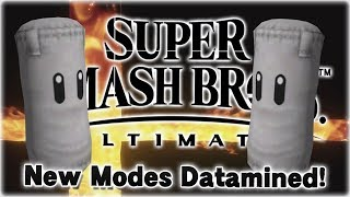 New Modes Datamined in Super Smash Bros. Ultimate?!