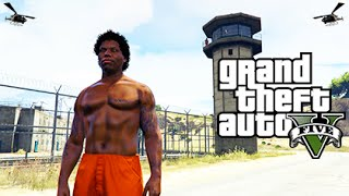 ULTIMATE PRISON LIFE MOD! (GTA 5 Mods Funny Moments)