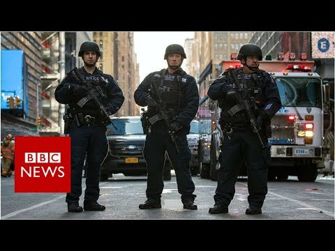 New York explosion: How events unfolded - BBC News