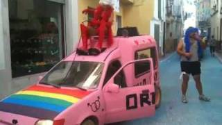 preview picture of video 'Tuejar Fiestas Gordas 2010'