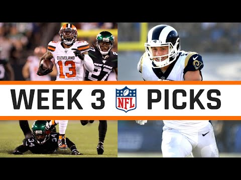NFL Week 3 2019 Picks Straight up and Against The Spread