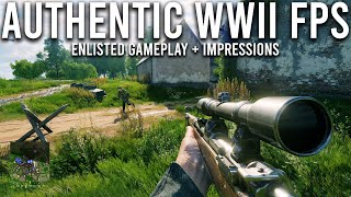 Enlisted - A NEW authentic World War 2 game that could rival Battlefield...