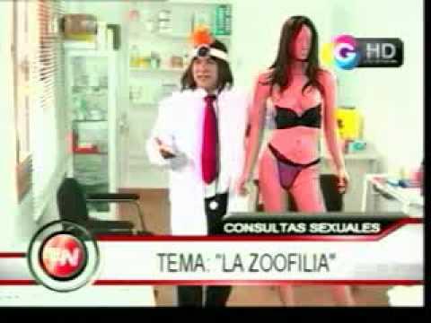 El Noticioso: Dr. Max Sano... Zoofilia...