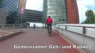 preview picture of video 'Radroute R1 (Teil 2): Kagran U - Donauinsel U'