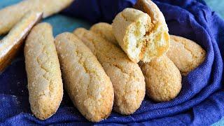 Печенье САВОЯРДИ (для тирамису)🍴ДАМСКИЕ ПАЛЬЧИКИ / Бисквитное Печенье
