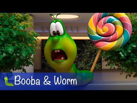 🐛 Booba - Booba and Worm - All episodes with Noodle - Cartoon for kids