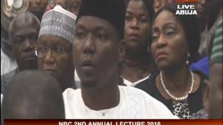 Highlights of NBC 2nd Annual Lecture