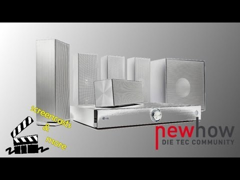 LG Heimkinosystem: Richtig aufbauen und anschließen