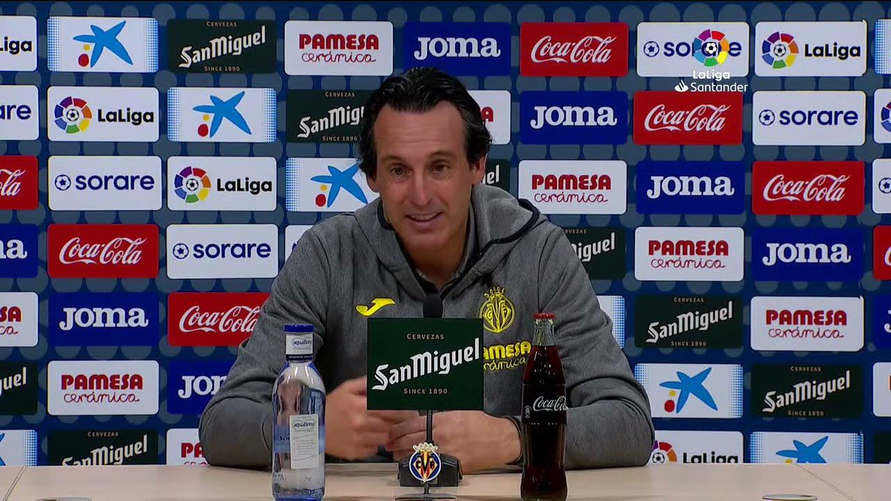 Rueda de prensa Villarreal CF vs Elche CF