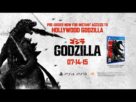 GODZILLA The Game - PS4 Gameplay Trailer thumbnail