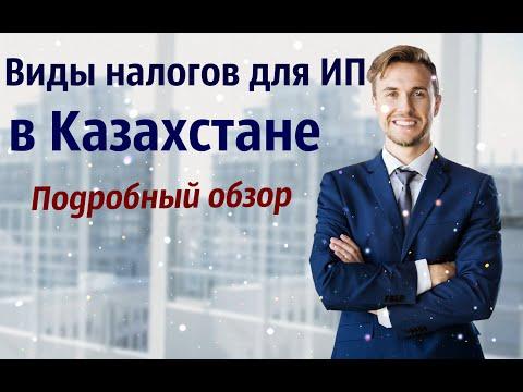 Какие виды налогов есть для ИП. Полный обзор из Казахстана 2020 год