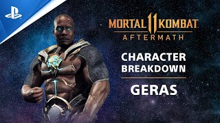 PlayStation Mortal Kombat 11: Aftermath - Character Breakdown: Geras | PS Competition Center anuncio