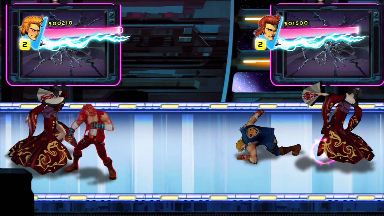 Double Dragon Neon Lighting up PSN in September — New Gameplay Video