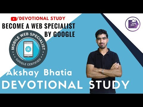 Become a Certified Mobile Web Specialist by GOOGLE - YouTube