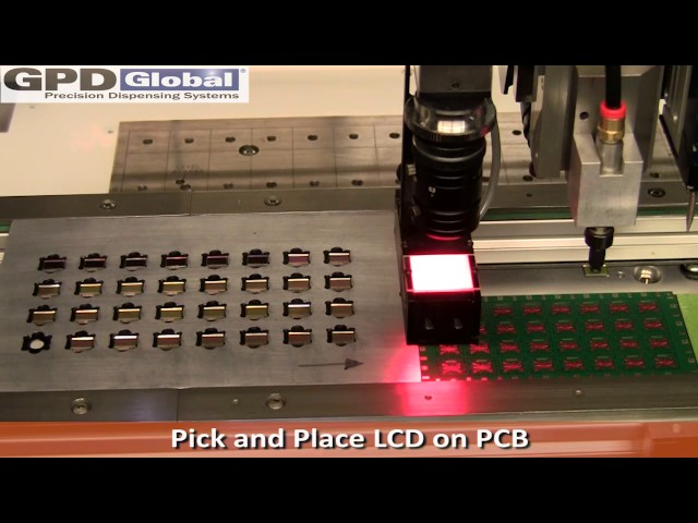 GPD Global: Multi-Functional System Dispense with Pick and Place