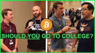 Should YOU Go To College? | Asking Crypto Influencers **SHOCKING RESULTS**