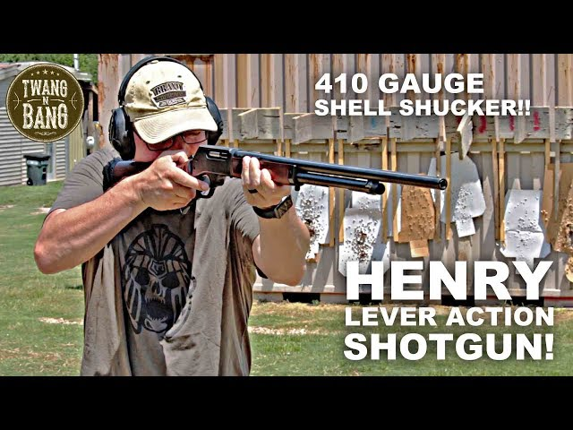 TWANGnBANG Reviews the .410 Lever Action Shotgun