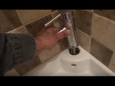 How to replace a Basin Tap / Lever Tap