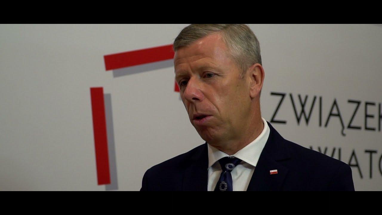 Wywiad TV z Zastępcą Szefa Kancelarii Prezydenta RP Piotrem Ćwikiem podczas Zgromadzenia Ogólnego ZPP