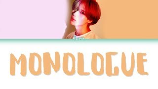Gambar cover TAEMIN (태민) – MONOLOGUE (혼잣말) Lyrics (Color Coded/HAN/ROM/ENG)