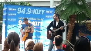 Brandon Heath (live in concert) no turning back